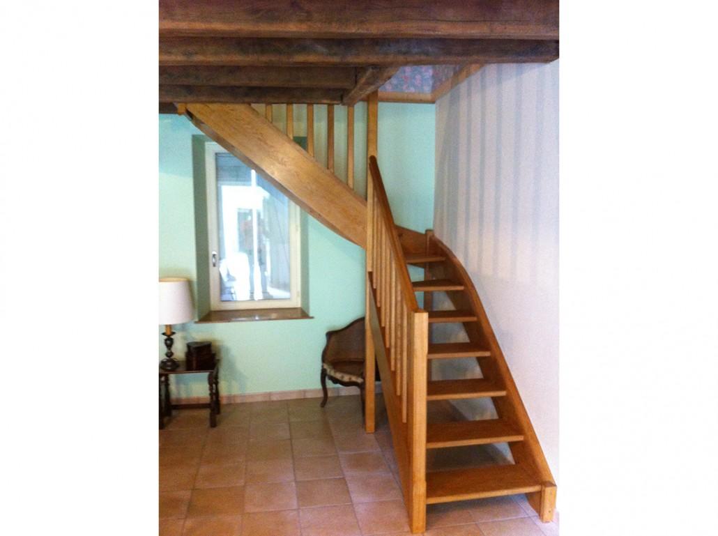 Escalier de maison en Charente Maritime