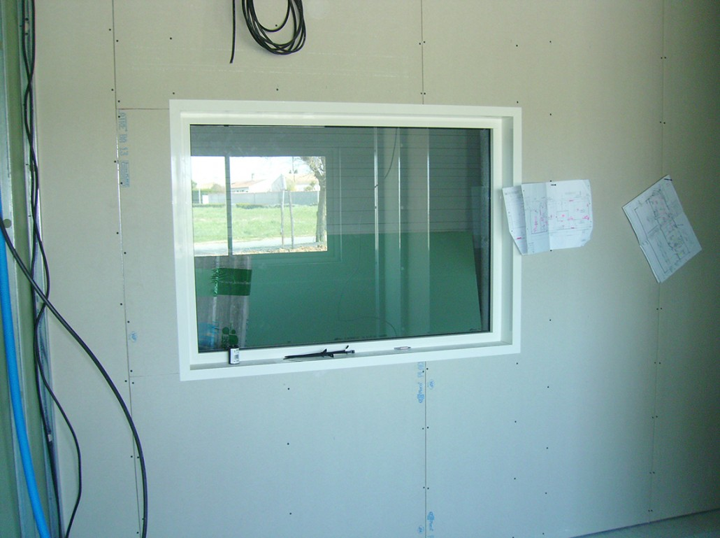 Menuiserie - Fenêtre intérieur Alu PVC