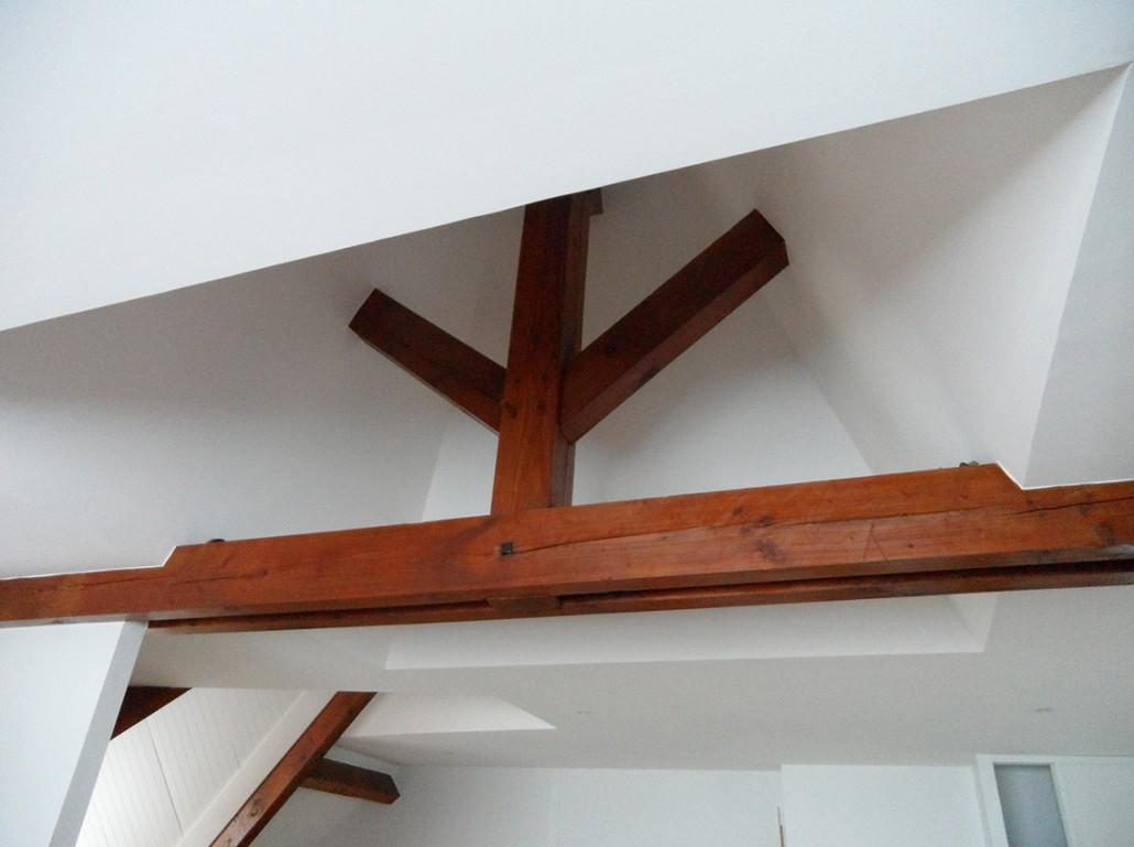 Isolation placo du plafond