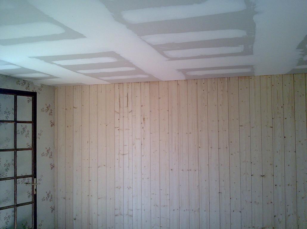 Plafond Bande et Placo