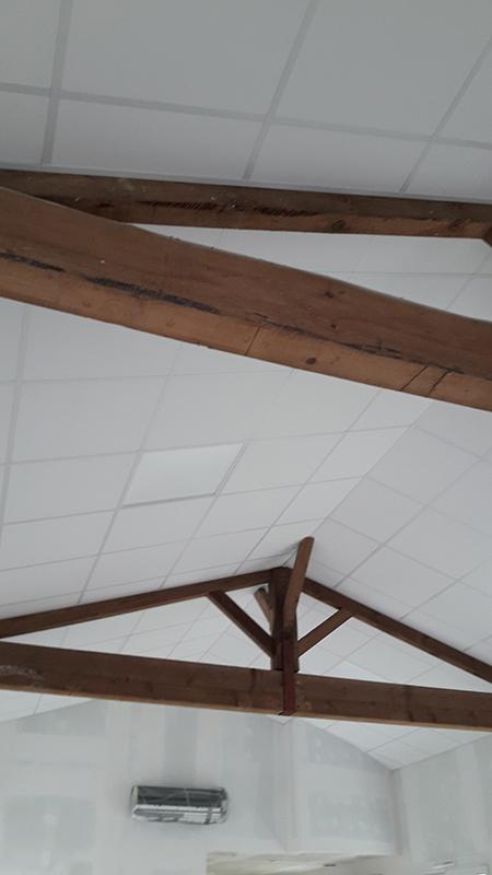 Faux-Plafond - isolant & acoustique en Charente Maritime