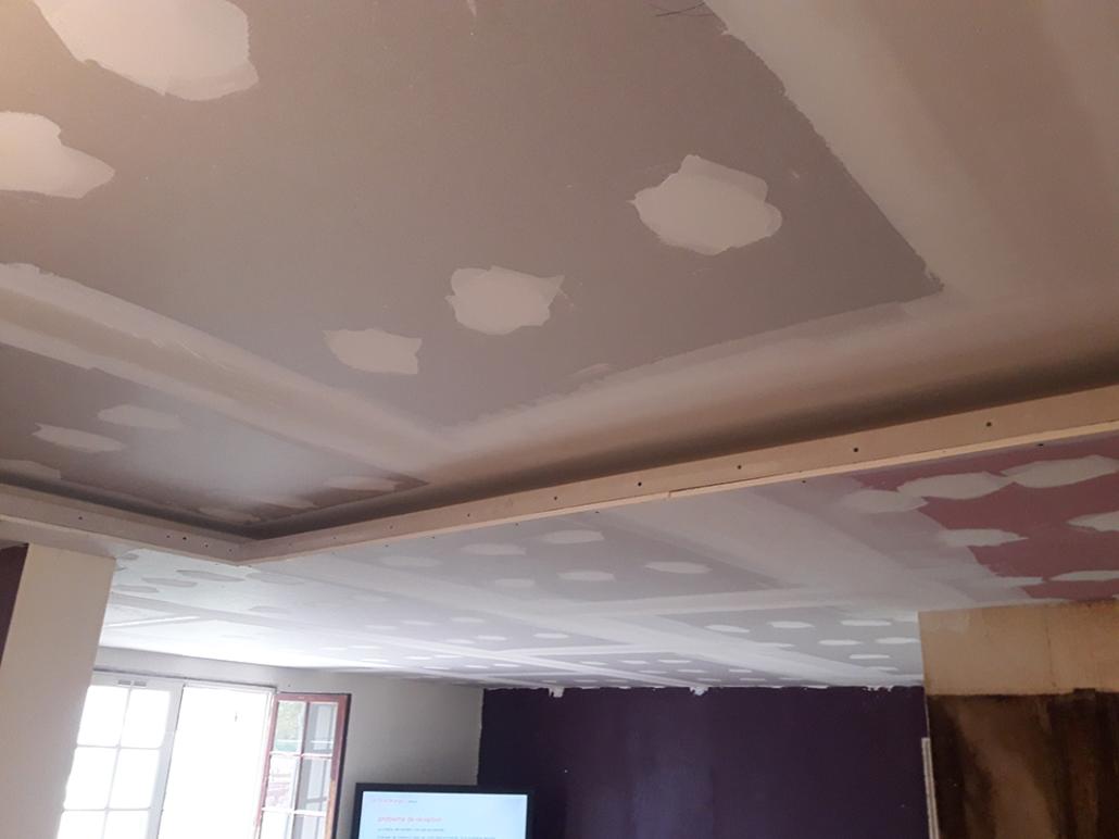 Plafond en placo en Charente-Maritime