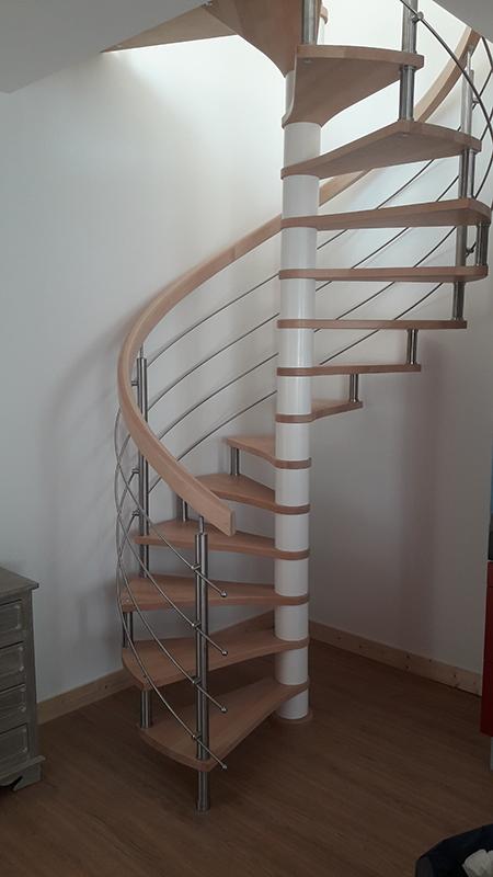 Pose escalier en Charente-Maritime