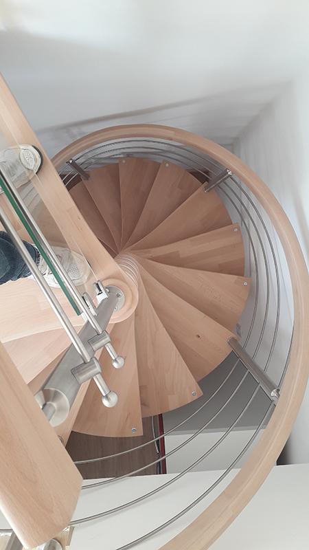 Pose escalier à Royan en Charente Maritime
