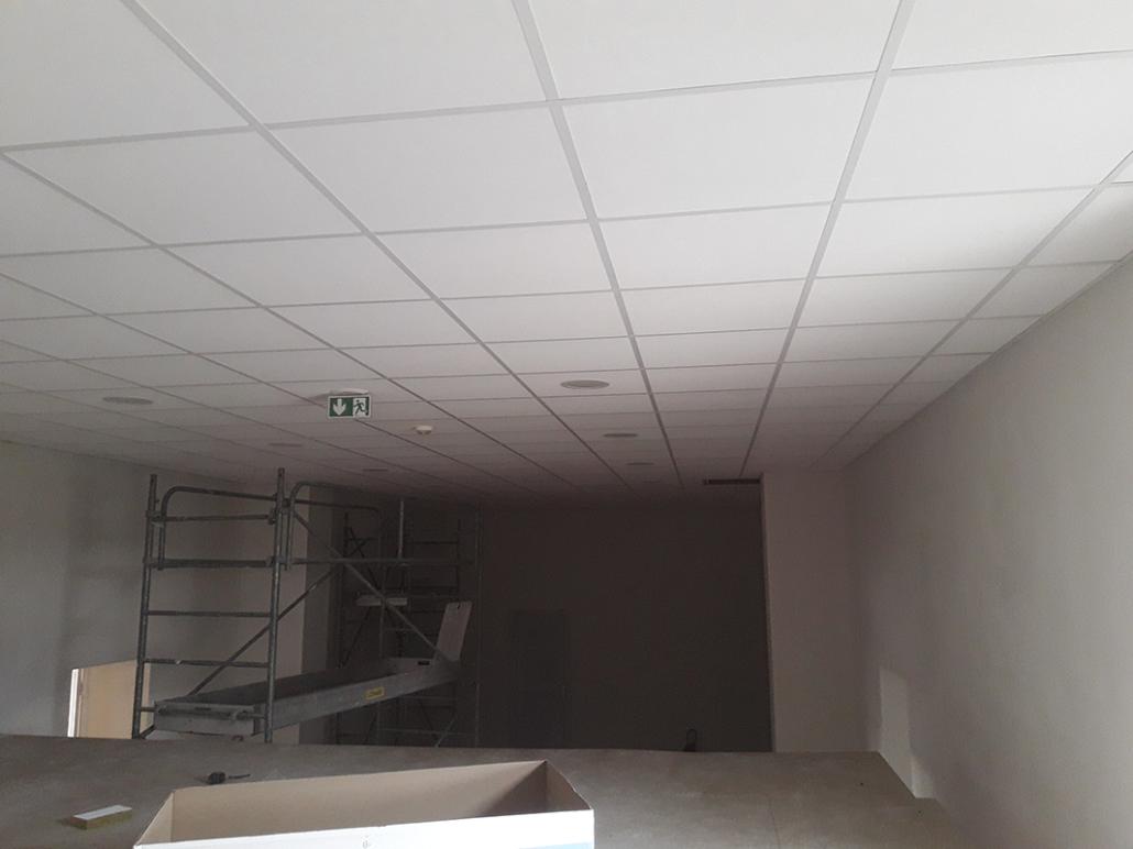 Pose faux-plafond en Charente-Maritime