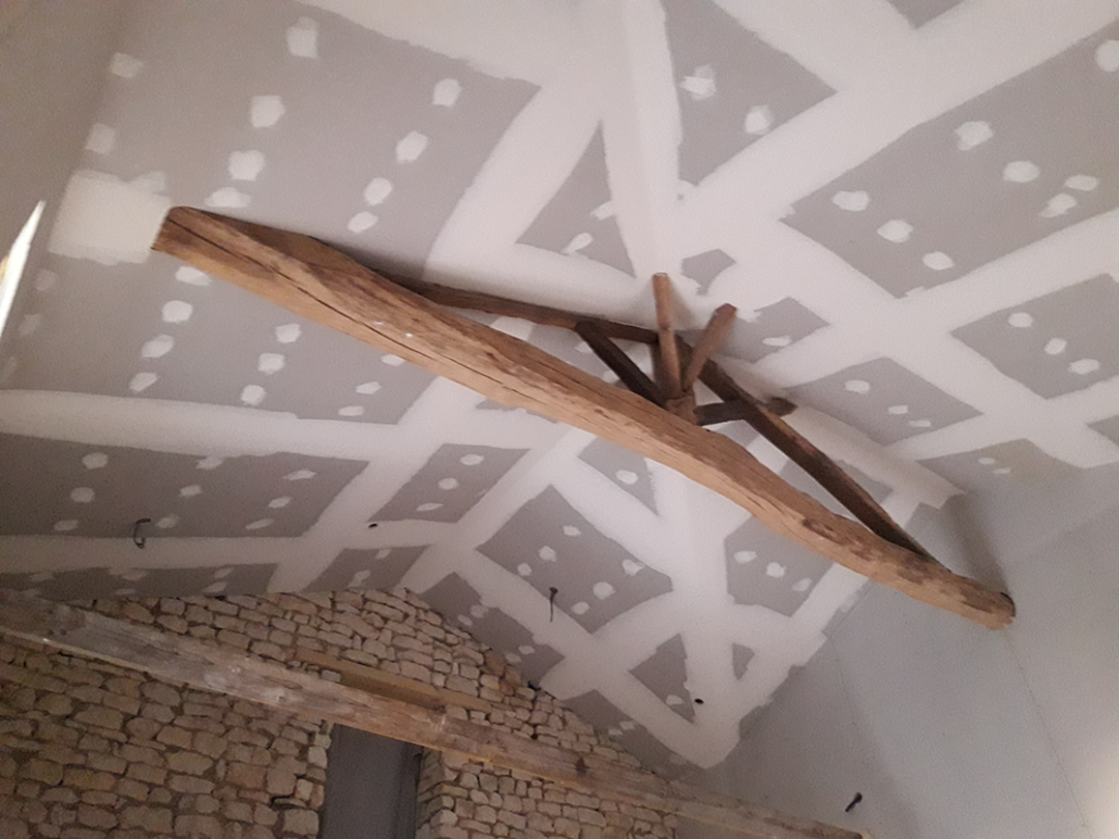 Pose placo plafond en Charente-Maritime